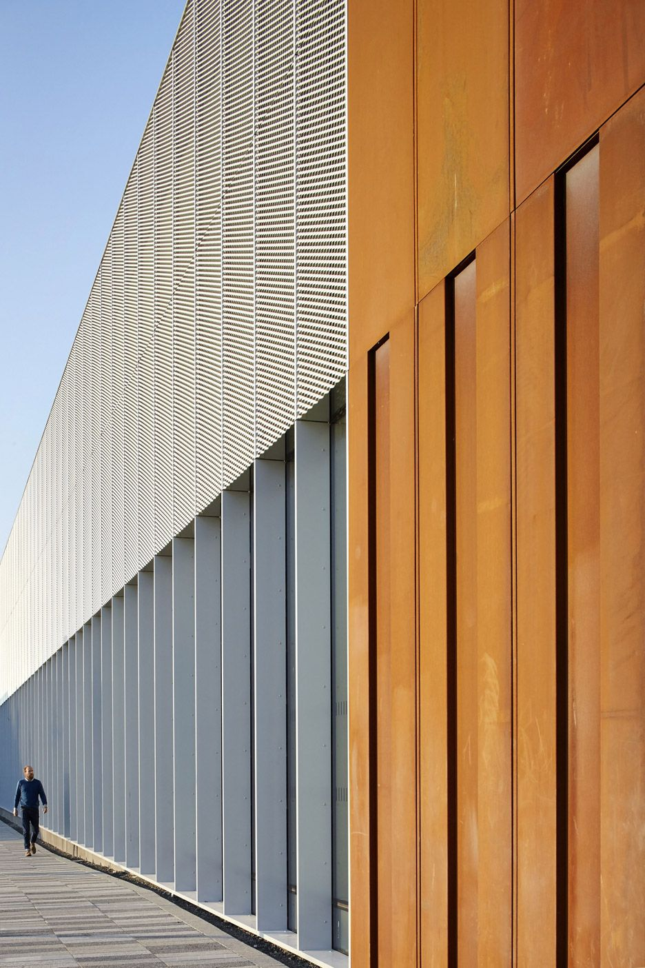 Hebburn Central By Faulknerbrowns Architects Facade Architecture Industrial Architecture Architecture