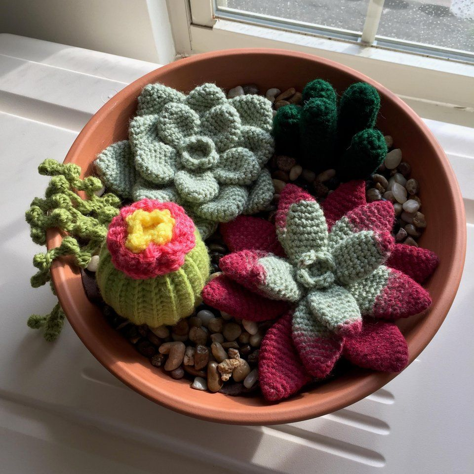 Crochet Characters Soft & Snuggly Cacti: 12 Succulent Designs ... | 960x960