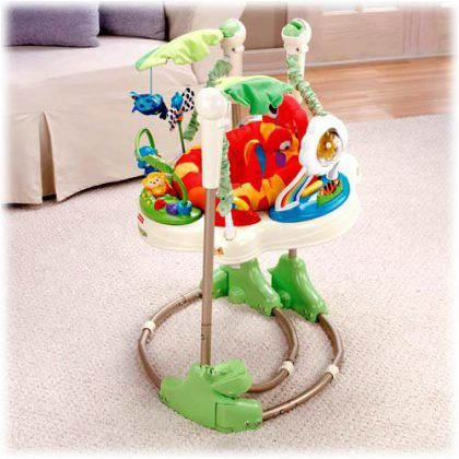 Best Baby Jumper Fisher Price Rainforest Jumperoo Jumperoo Toddler Toys