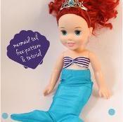 """15"""" doll Mermaid tail"""