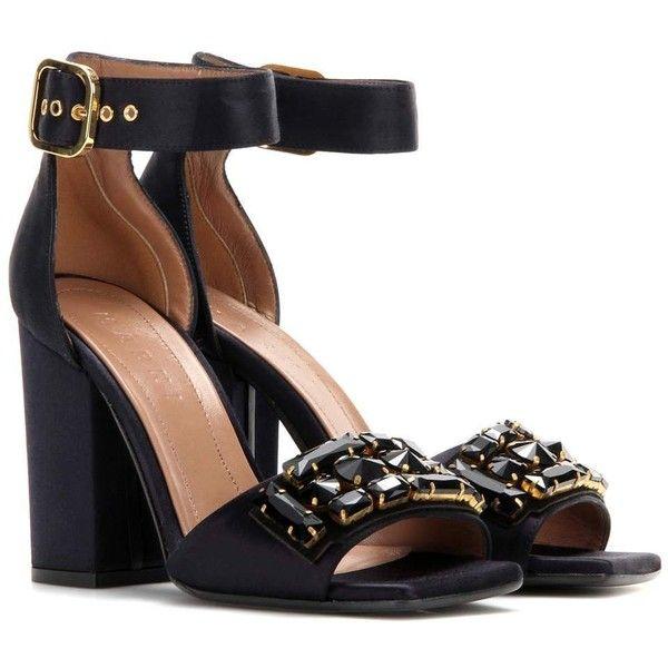 embellished heel sandals - Blue Marni LVBNw4mU