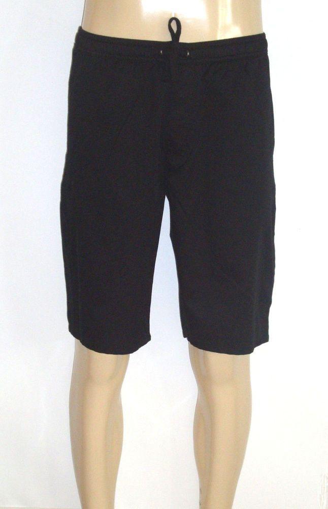 Mens Shorts Black Size Large Pull on Elastic Waist by Tony Hawk ...