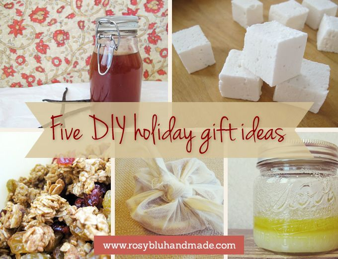 5 DIY Gifts To Make In Bulk For The Holidays