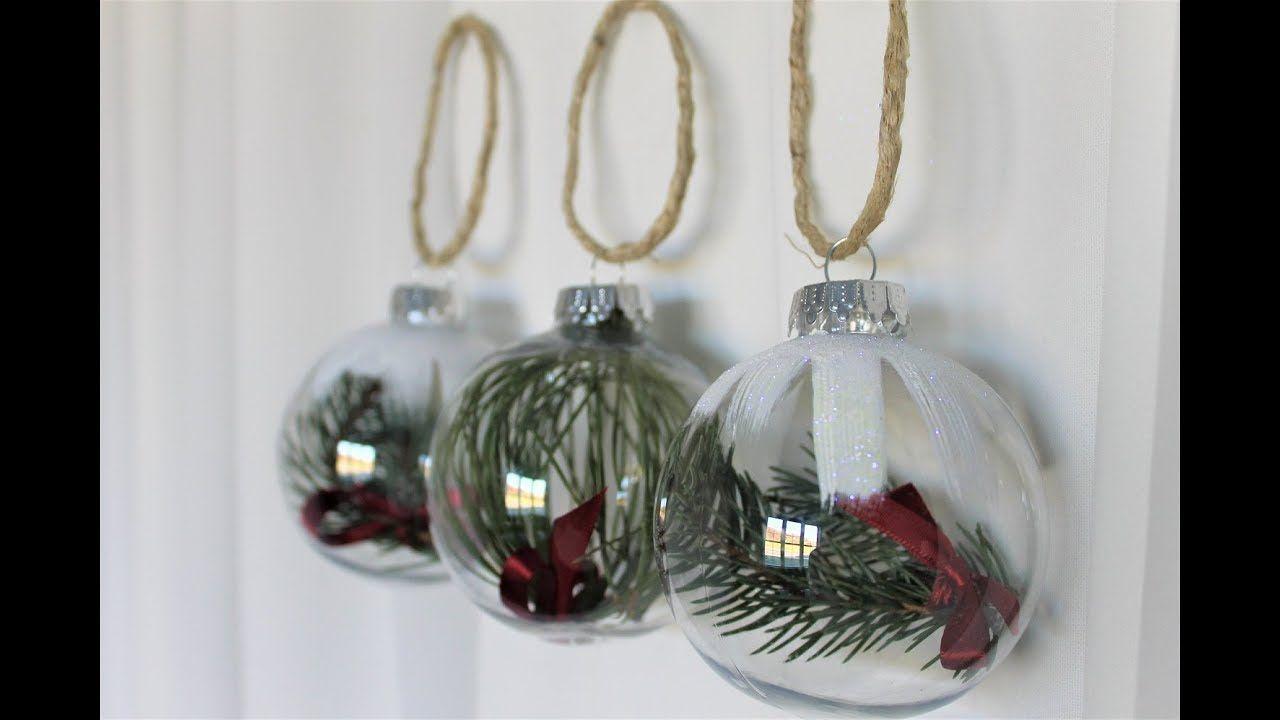 Christmas Ornaments DIY - YouTube | HandmadeByAnastasia | Pinterest ...