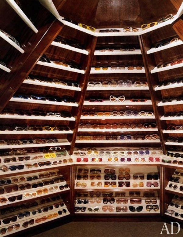 Charmant Celebrity Closet | Elton John | Sunglasses Storage Elton Johnu0027s Closet.