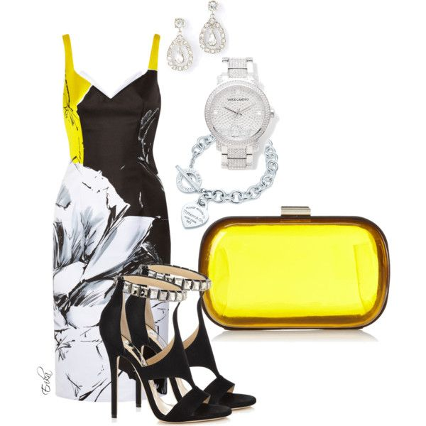 """A drop of lemon"" by equiscriminal on Polyvore"