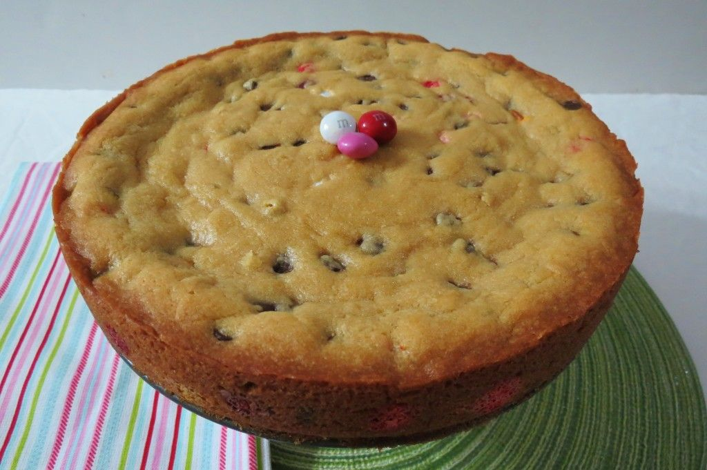 Chocolate chip with M''s cake