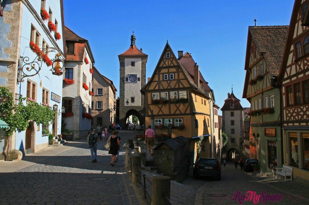 Un salto nel medioevo sulla Romantische Strasse | www.romyspace.it