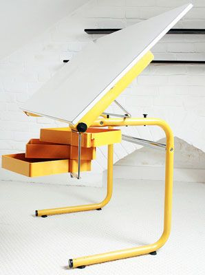 Architects Desk 1970s joe colombo architect's desk for bieffeplast | pour le