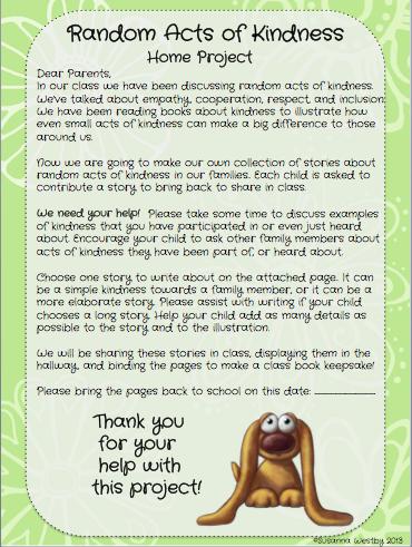 kindness activity   Classroom Management/SEL   Kindness