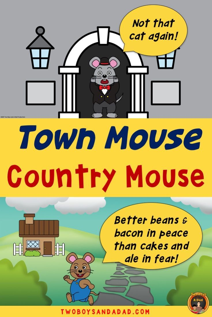 The Town Mouse And Country Powerpoint Google Slidesresource Aesops Fable Of Comes Alive With This Animated