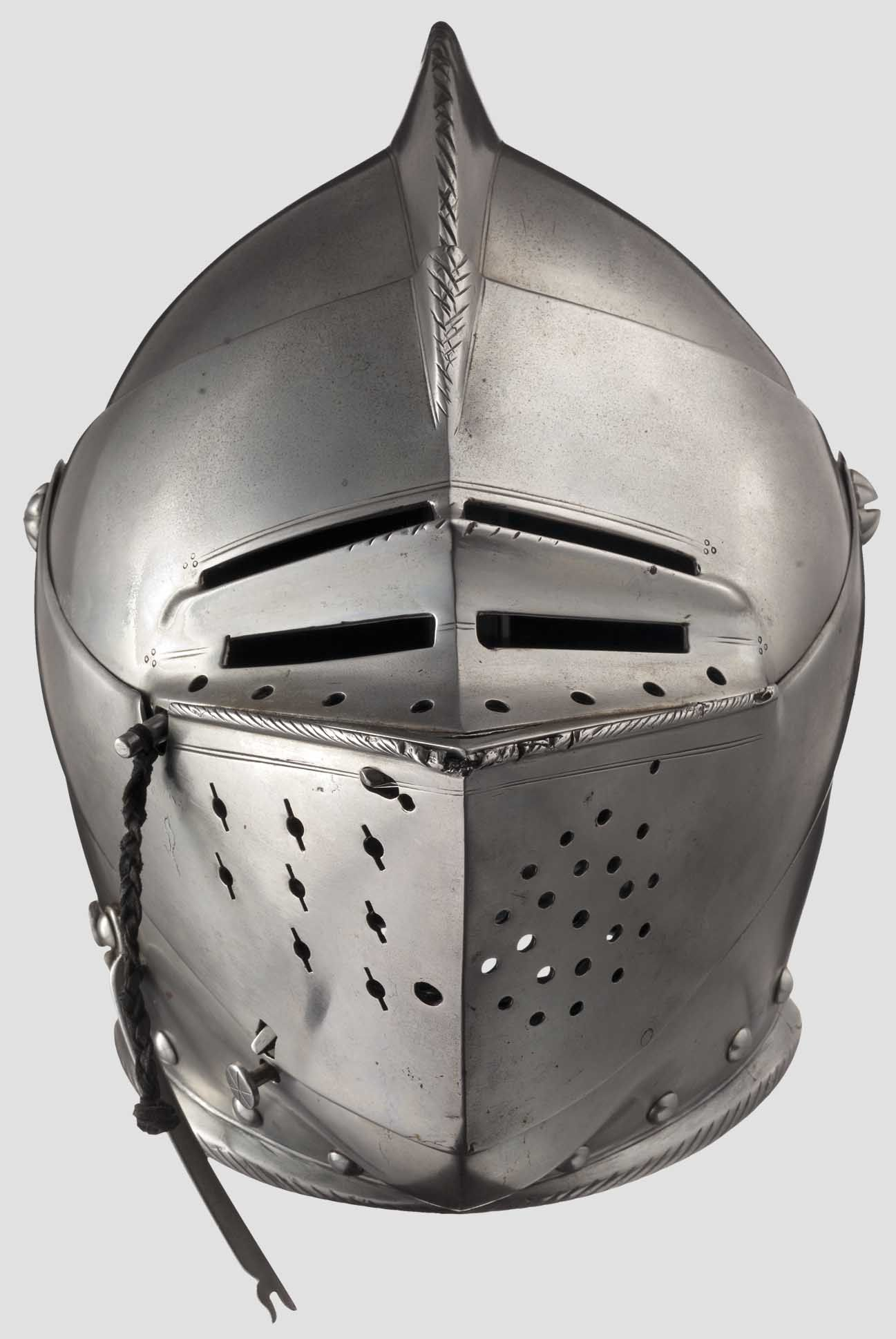 German Close Helmet Late 16th Century