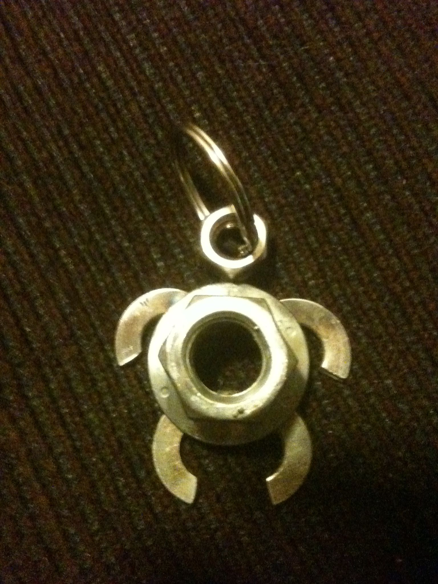 Nuts Amp Bolts Turtle Key Chain