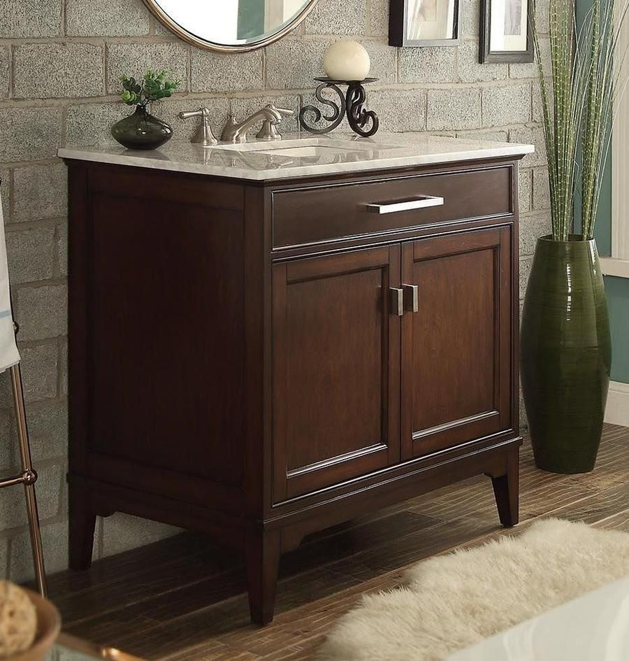 36 benton collection theron bathroom sink vanity gd on replacement countertops for bathroom vanity id=90186