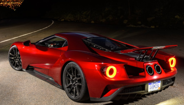 2018 Ford Gt Height Ford Gt Ford Gt 2017 Ford