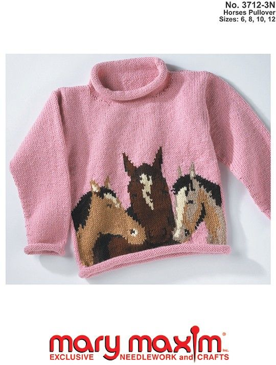 Knit this pullover using Mary Maxim worsted weight yarn.   Cowichan ...