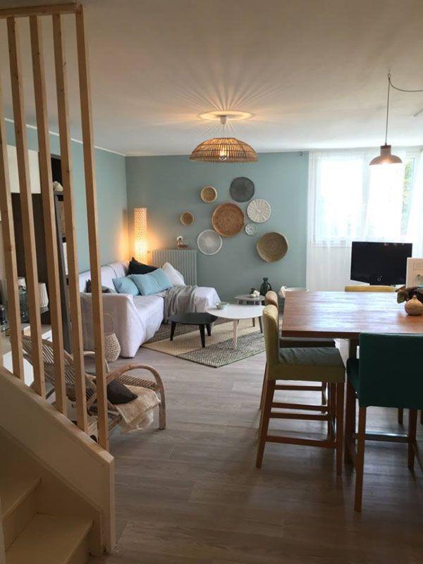 d co po tique la d coration d 39 un salon imagin e par sophie ferjani tableaux de couleur. Black Bedroom Furniture Sets. Home Design Ideas