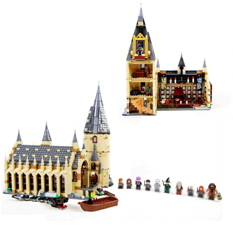 Harry Potter Hogwarts Great Hall 75954 Wizarding World Building Blocks BEST GIFT