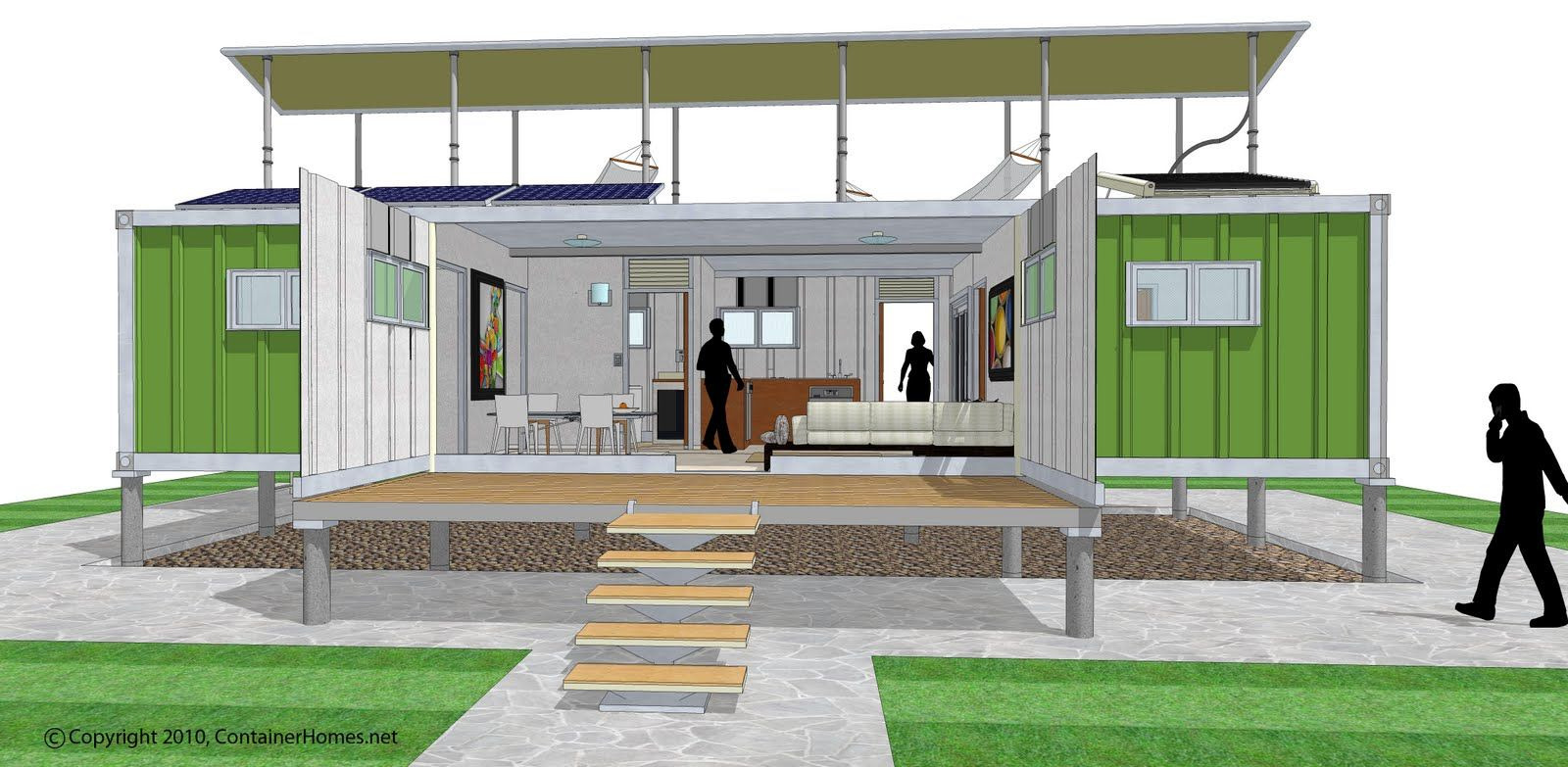 knockout shipping container home design plans: shipping container