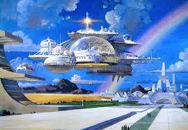 Ciudades Futuristas Retro Futurism 70s Sci Fi Art Fantastic Art