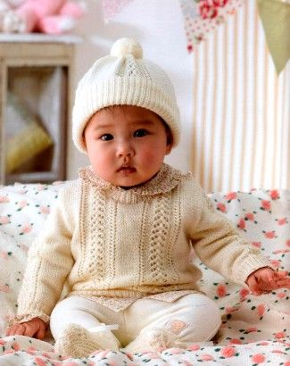 Vintage Patons Baby Knitting Patterns | Vintage baby patterns ...
