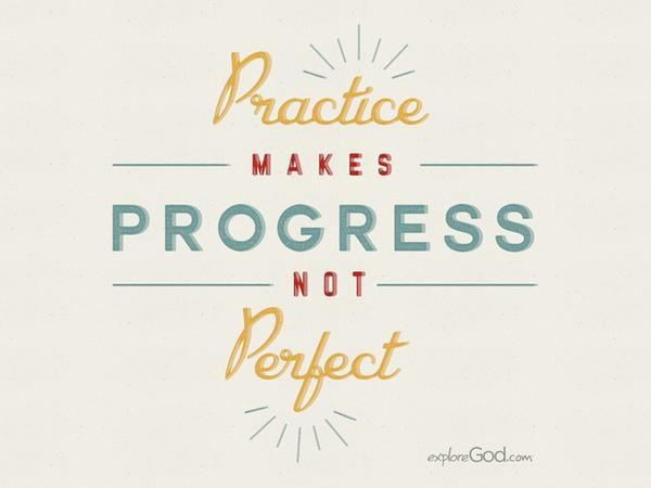 practice makes progress - Google Search