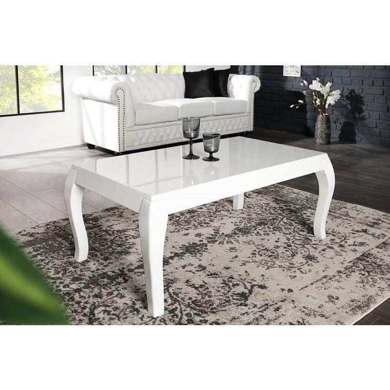 moderne salontafel barocco 110cm wit 35593 salon en bijzettafels pinterest tisch design. Black Bedroom Furniture Sets. Home Design Ideas