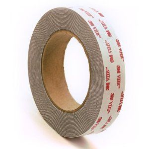 Vhbdouble Coated Foam Tape Rolls And Shapes Very High Bond 100 Closed Cell Tapes Form A Tight High Performance Seal Stro Foam Tape Double Sided Adhesive Tape