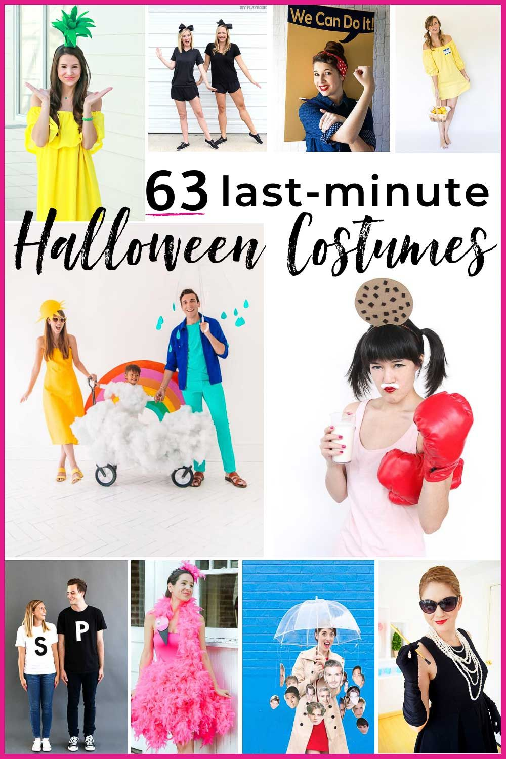 last minute costume ideas that donut look like an afterthought