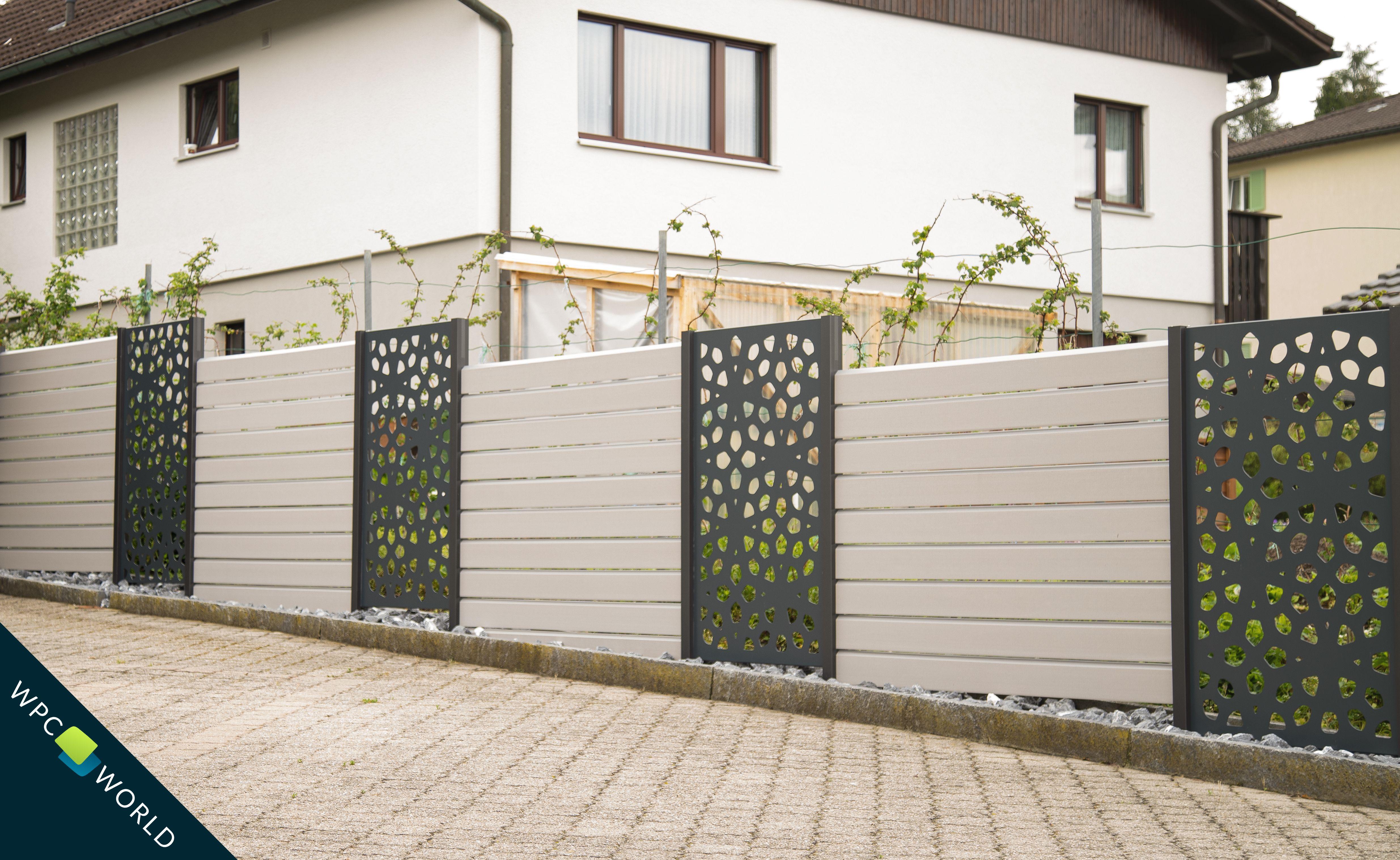 Wpc Sichtschutzsysteme Fur Haus Und Garten Designelemente Modernes Zaun Design Sichtschutzelemente Sichtschutz Garten Zaun