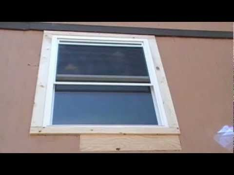 Remove Replacing Installing Replacement Aluminum Window With