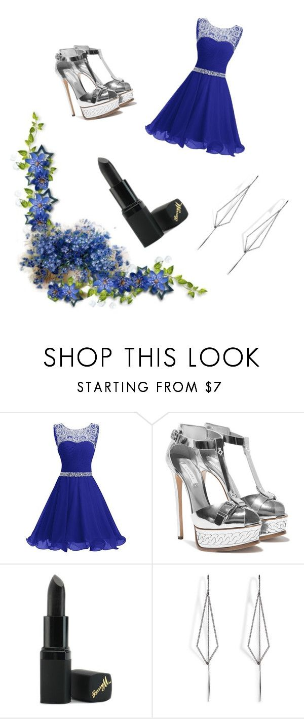 """""""Untitled #17"""" by dzeni226683 ❤ liked on Polyvore featuring Barry M and Diane Kordas"""