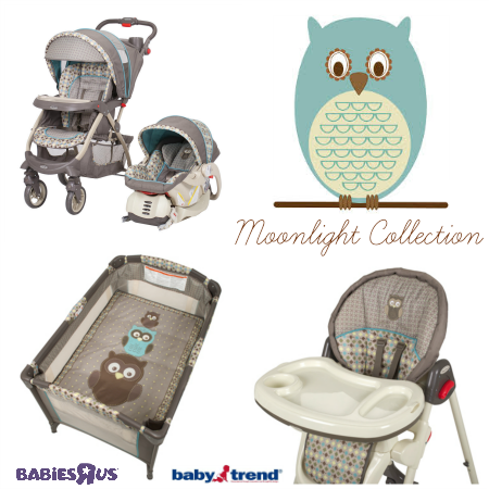 Like Owls You Ll Love The New Babies R Us Exclusive Baby Trend Moonlight Collection High Chair Playard Stroller Carse Baby Trend New Baby Products Baby