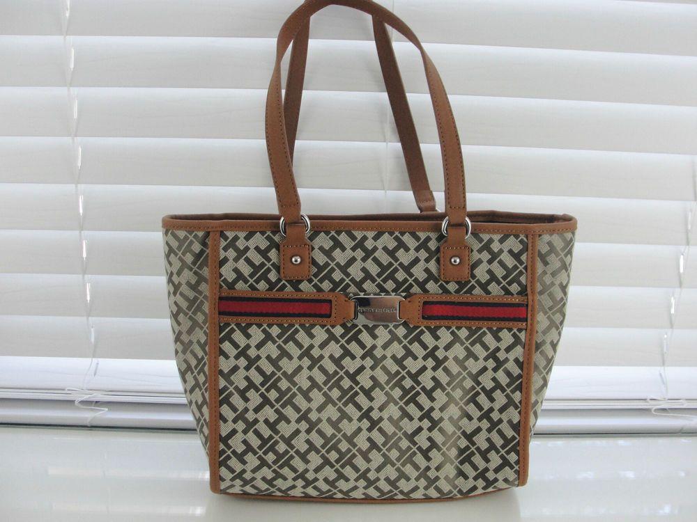 tommy hilfiger tasche handtasche shopper beige hellbraun. Black Bedroom Furniture Sets. Home Design Ideas