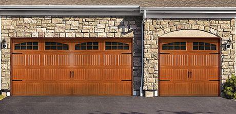 Wayne dalton wood grain garage door for Wood grain garage doors