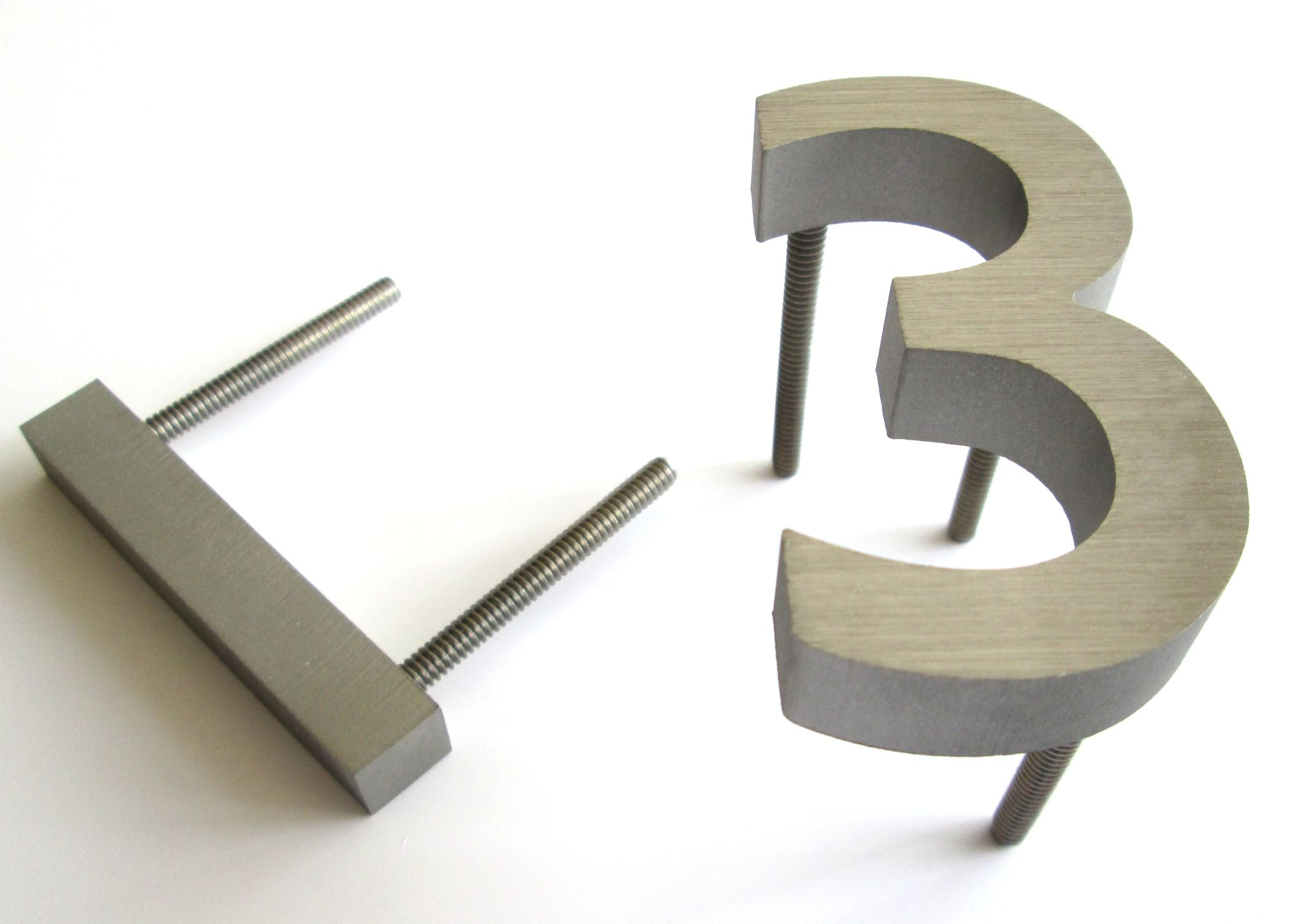 75 Mm High Stainless Steel House Numbers Steel House House Numbers Steel