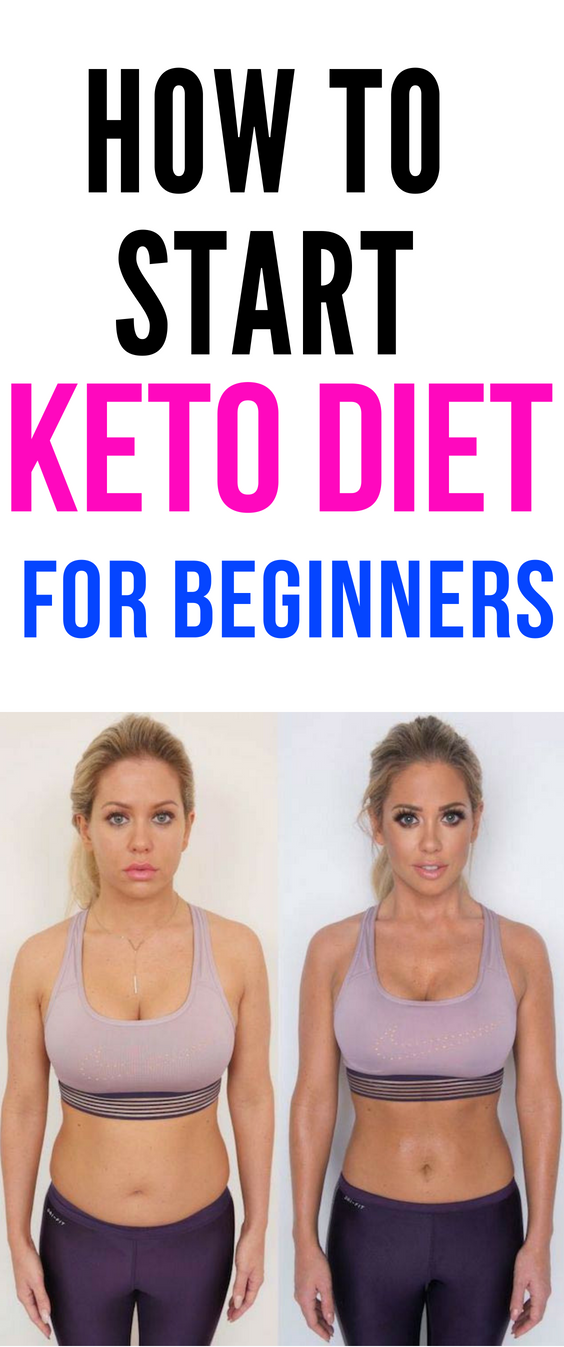 How to start a keto diet for weight loss women beginners. #ketodietforbeginners