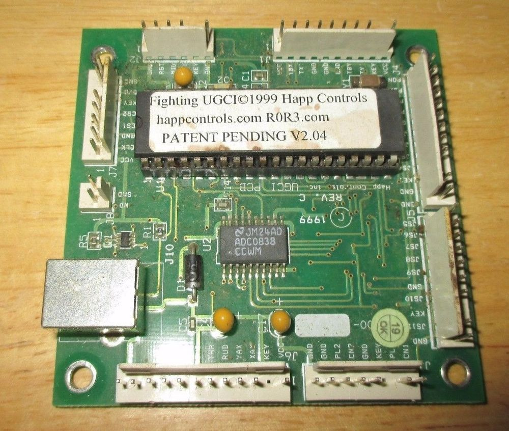 HAPP USB GAME CONTROL INTERFACE BOARD UGCI VER 2 04