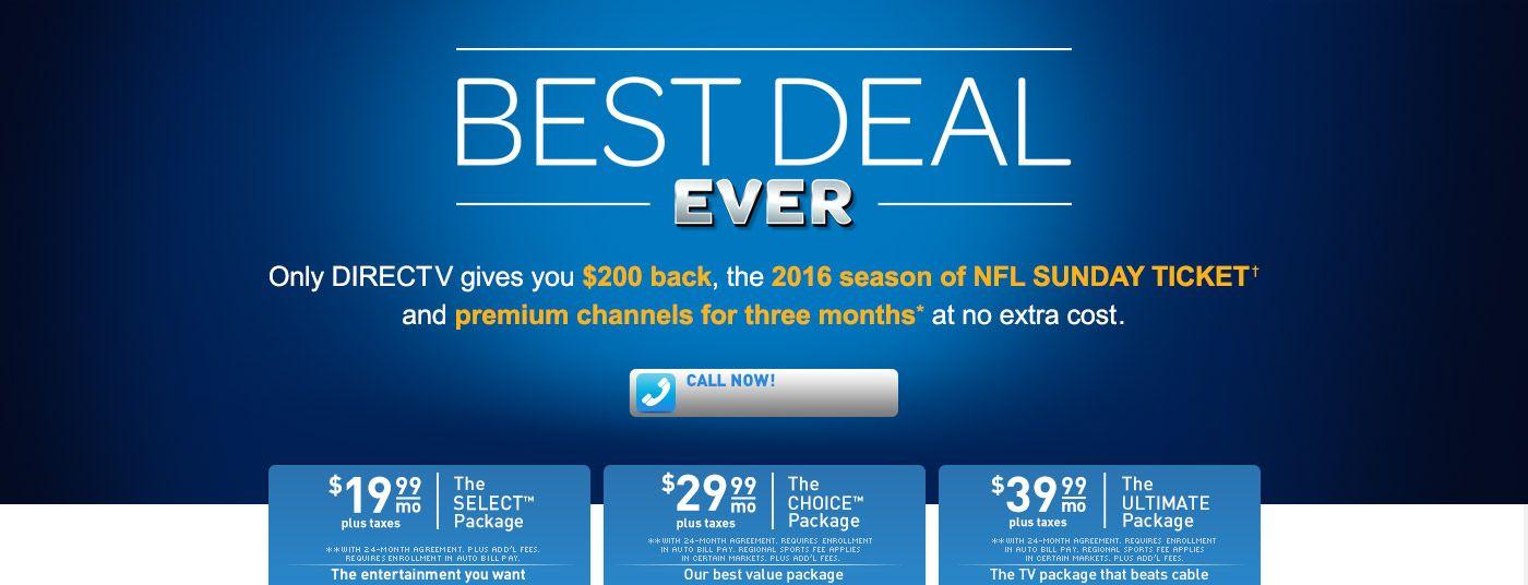 Best Offer Come Back Nfl Sunday Ticket Comebacks Directv