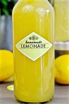 Limonade selbstgemacht von Frl. Selbstgemacht