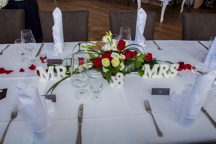Tischdeko Hochzeit Heiraten Insel Rugen Restaurant
