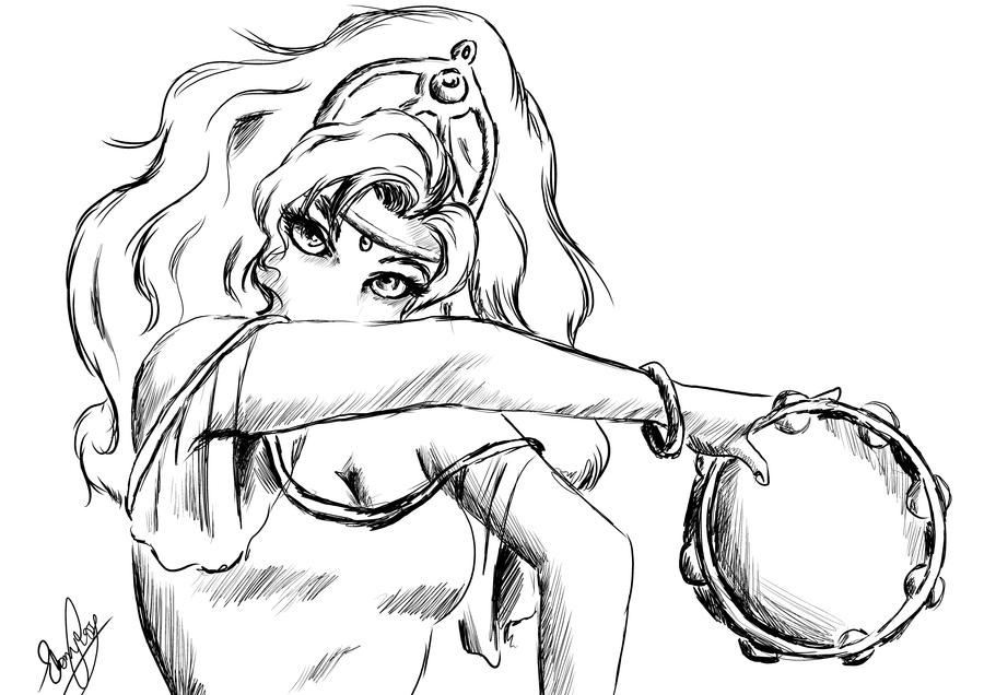 How to Draw Esmeralda