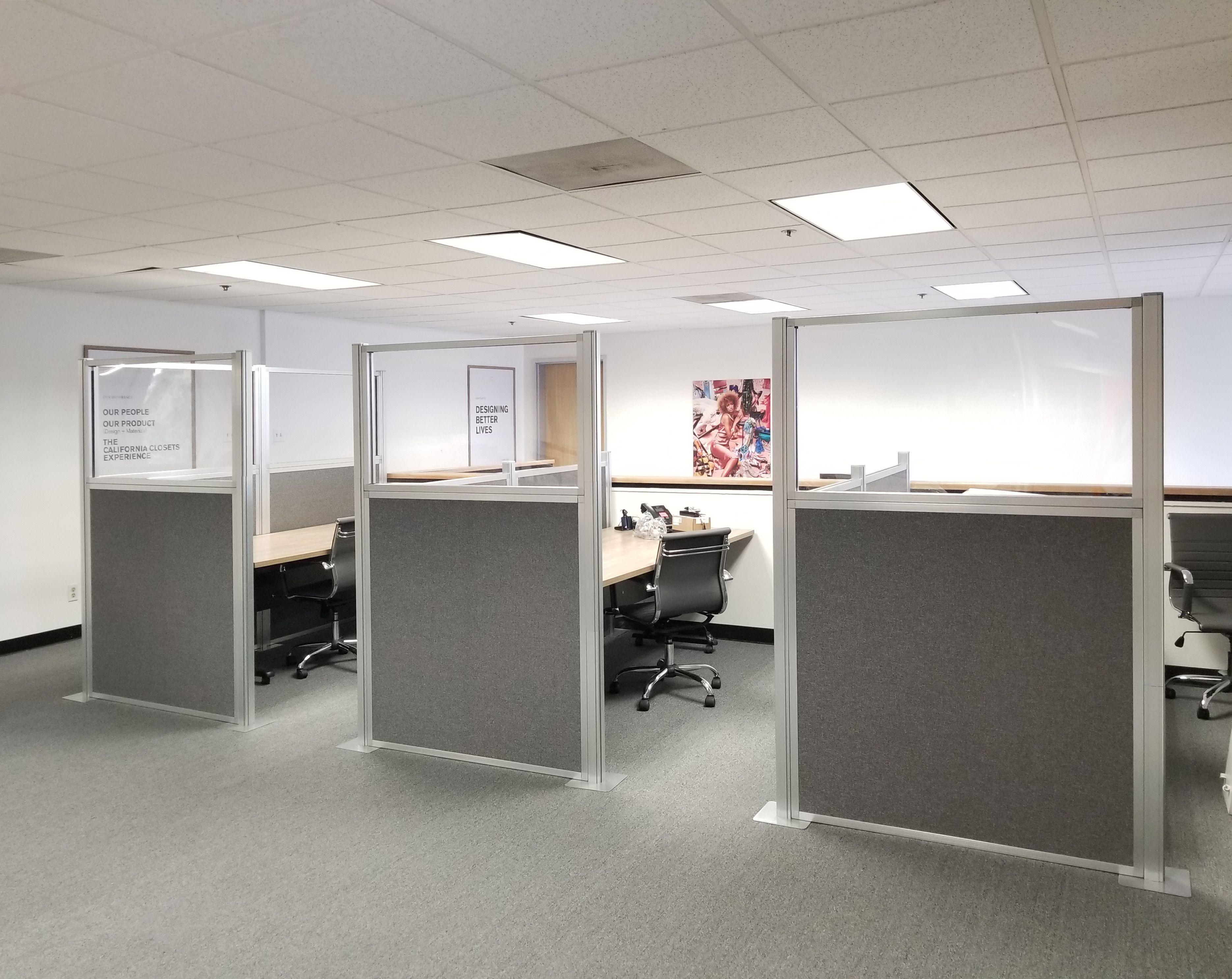 California Closets Chose The Hush Panel Configurable Cubicle