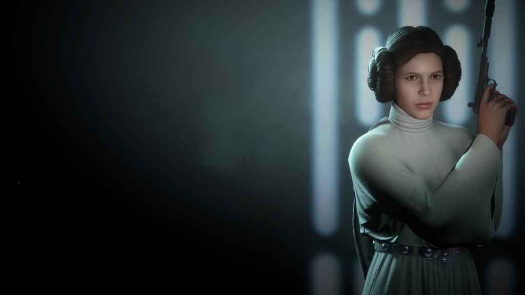 Star Wars Battlefront 2 Princess Leia Wallpaper By Bluemoh Princess Leia Star Wars Battlefront Leia