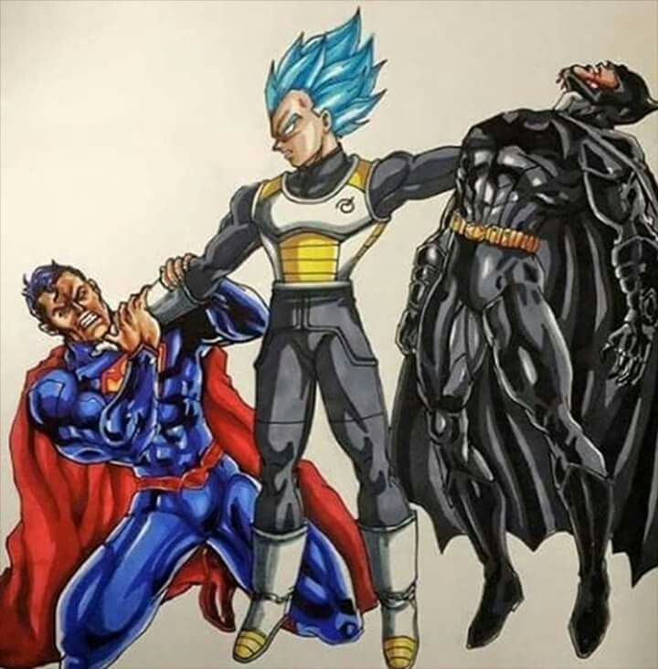 Pin by quentin banks on gvs pinterest dragon ball anime and anime mangas - Superman et batman dessin anime ...