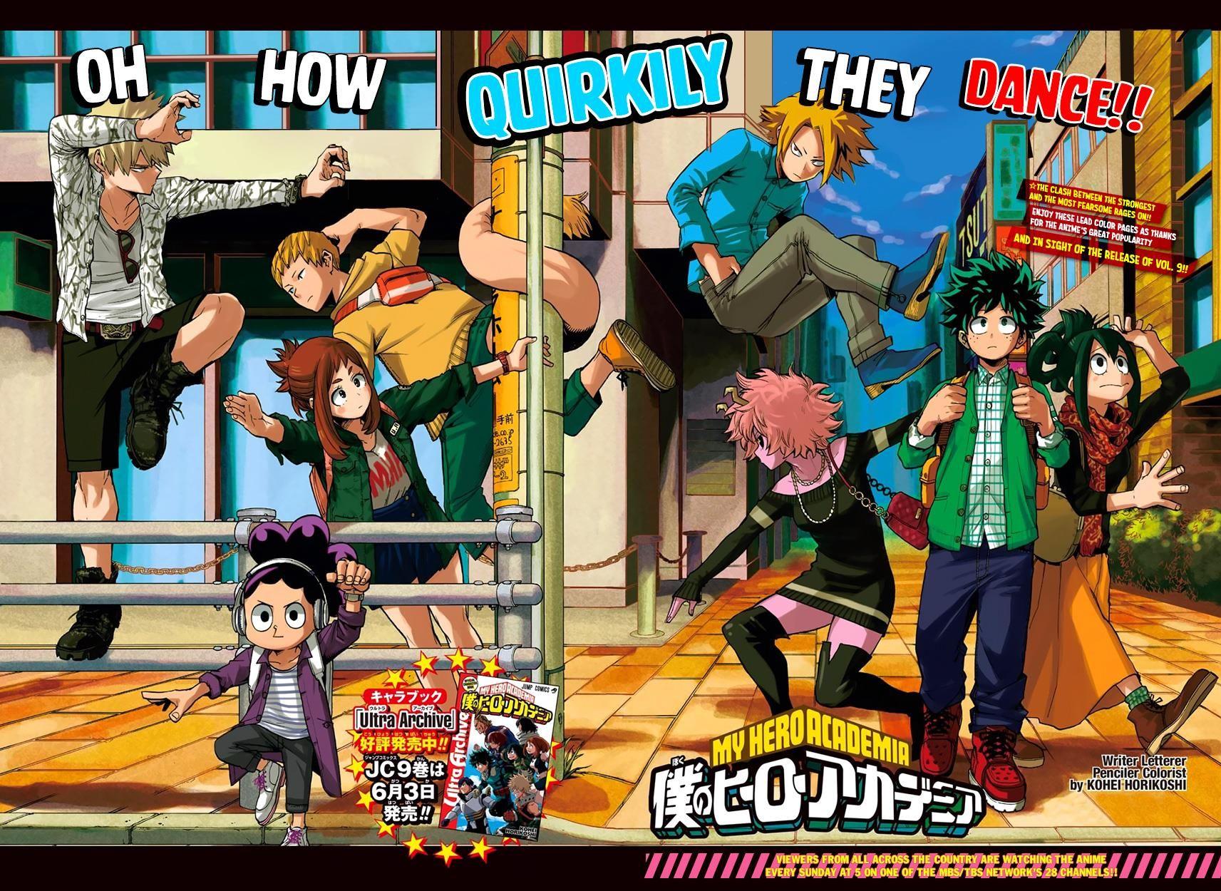 Boku No Hero Academia Chapter 91 With Images My Hero