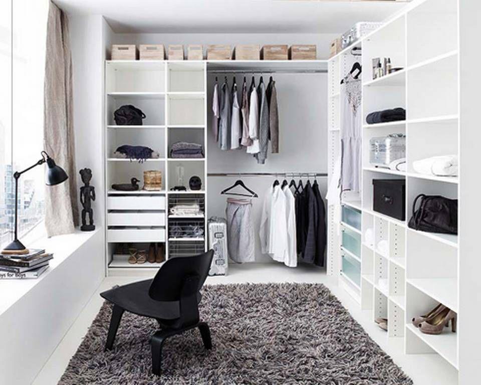 MED PLASS TIL DET MESTE: Bruker du først et rom til å lage walk-in ...