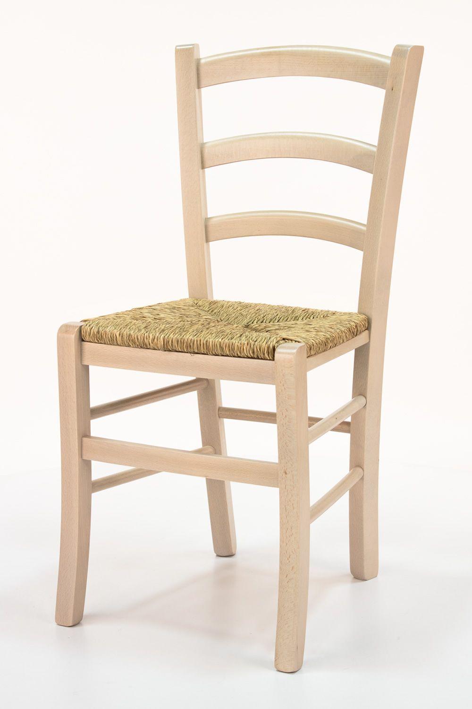 Sedie in legno per ristorante pub pizzeria con seduta paglia ...