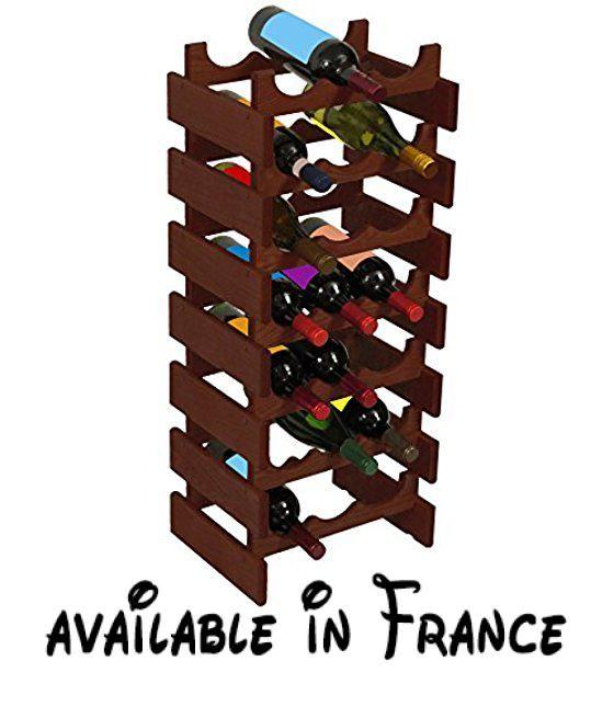 Wooden Mallet 15-Bottle Unfinished Dakota Wine Rack by Wooden Mallet. Wooden Mallet 15-Bottle Unfinished Dakota Wine Rack #Kitchen #HOME