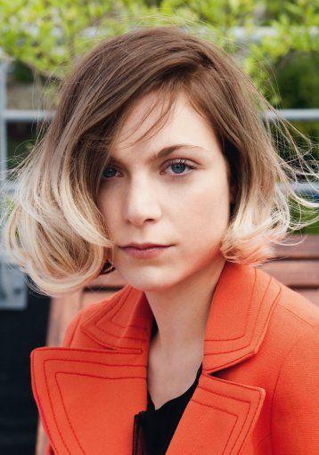 Carré Droit Tie And Dye Mods Hair Hairy Mod Hair Hair Styles